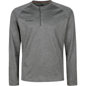 Mammut Crashiano Longsleeve Shirt Men, phantom melange